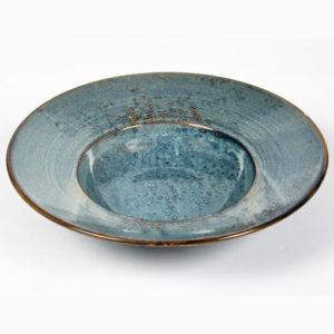 Assiette chapeau bleu 27,5 cm x H5, Cm