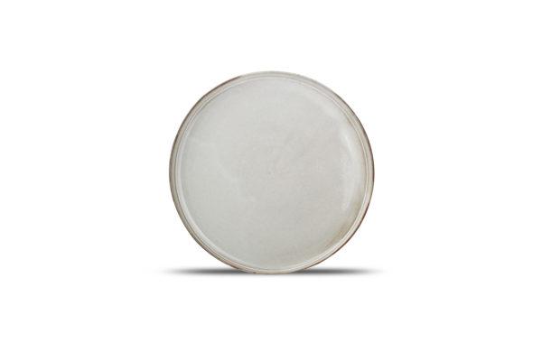assiette diam 27,5 H 2 cm Ceres gris