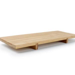 Planche à sushi 30x12xH2.5cmset/2 rect.bamb Sendai