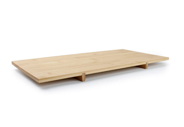 Planche à sushi 38x19xH2.5cm rectang bambou Sendai