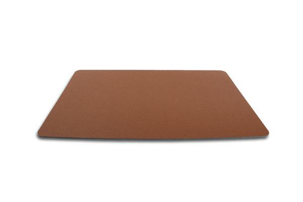 Set de table 43x30cm cuir rect. brun TableTop
