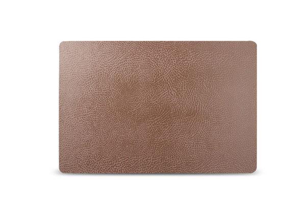 Set de table 43x28cm cuir brun TableTop