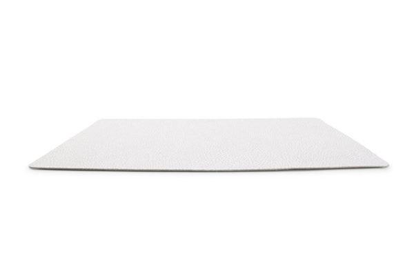 Set de table 43x28cm cuir blanc TableTop