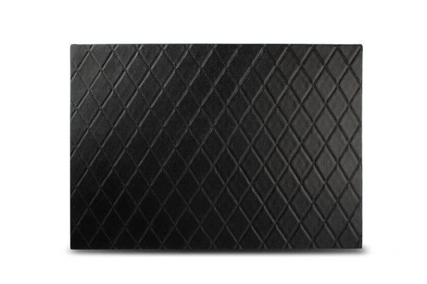 Set de table 43x30cm carreaux noir TableTop