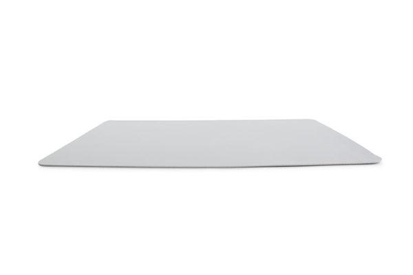 Set de table 43x30cm aspect cuir gris TableTop