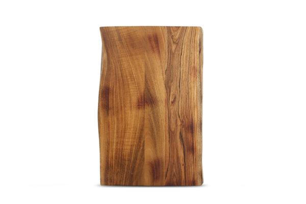 Planche à servir sur pied 50x33xH7,5cm acacia Chop
