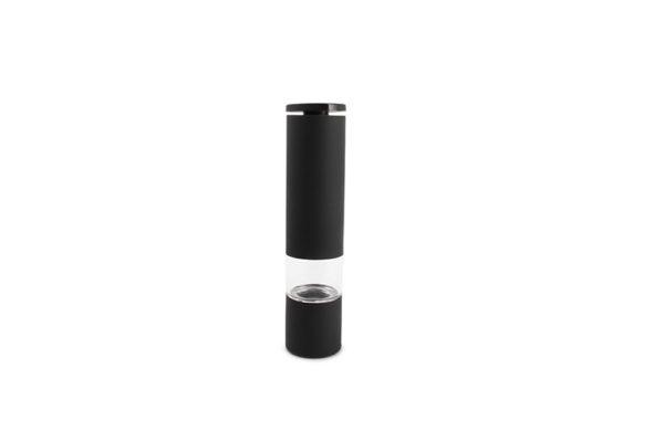 Moulin poivre/sel H21,5cm coating caout.noir Spice