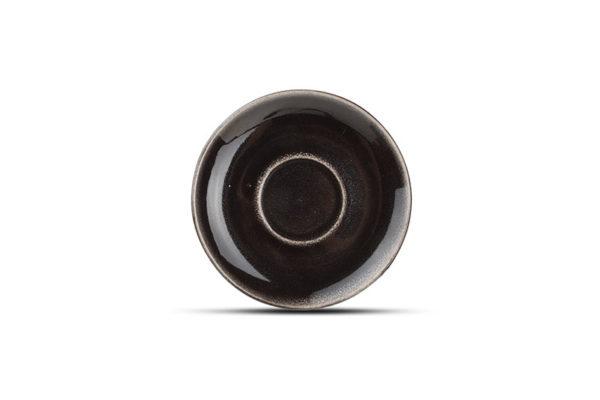 asse 0.22L et soucoupe 14.9cm noir Artisan