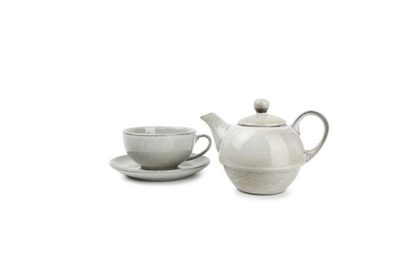 Tea for one set vert Artisan