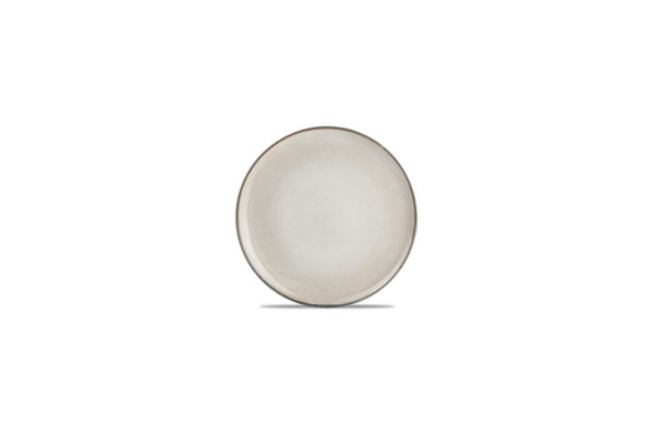 Assiette plate 20cm gris/vert Meridian