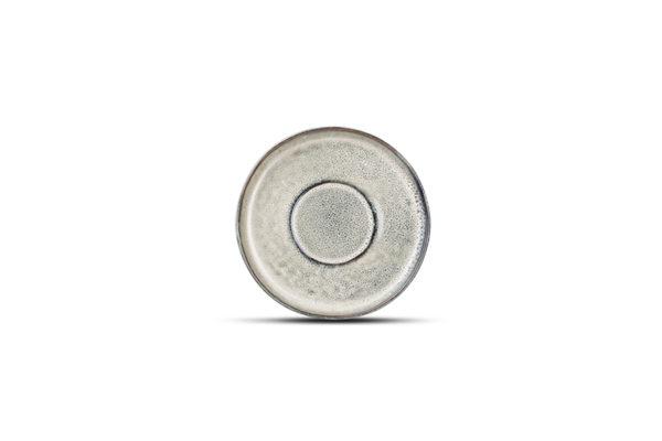 Tasse 0,24L et soucoupe 15cm gris/vert Meridian