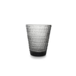 Verre 0,26L set/4 conique noir Fabric