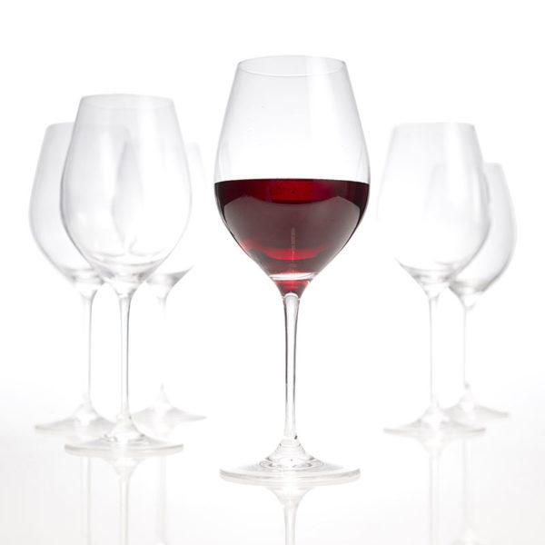 Verre à vin rouge 0.60l set/6 Cuvee