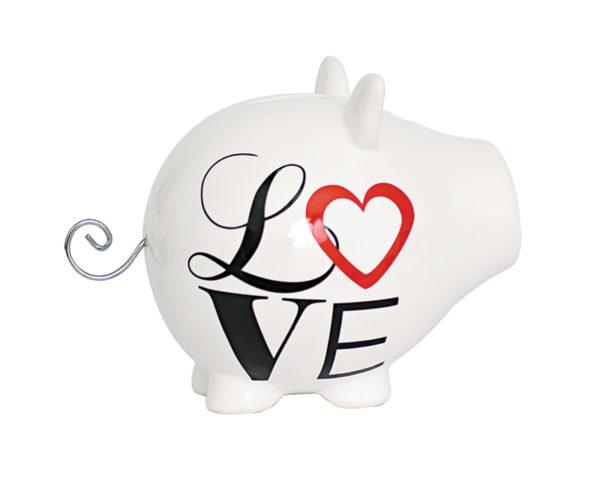 Tirelire love Oink