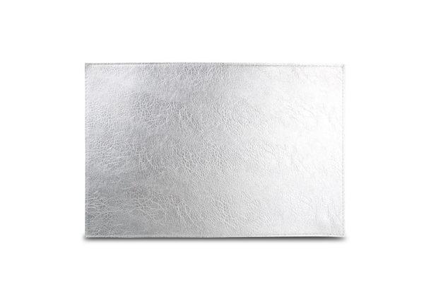 Set de table 30x45cm aspect cuire argent TableTop