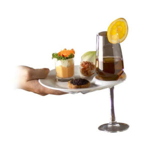 assiette réception