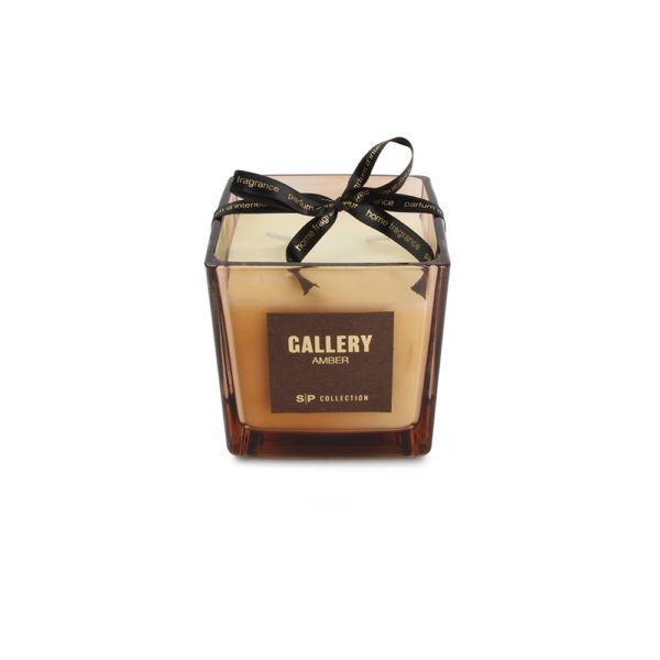 bougie parfumée 550 g Amber Gallery
