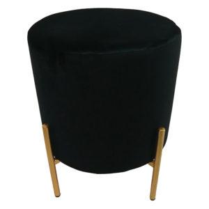 pouf noir